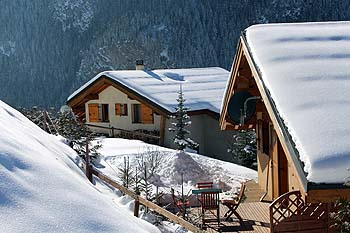 Catered ski chalets in Les Arcs