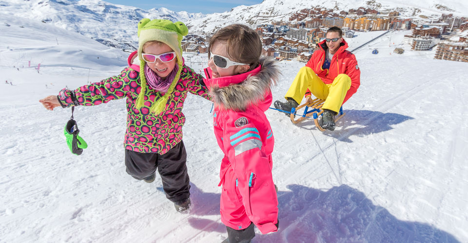 Photo: C.Cattin - Val Thorens family ski holiday