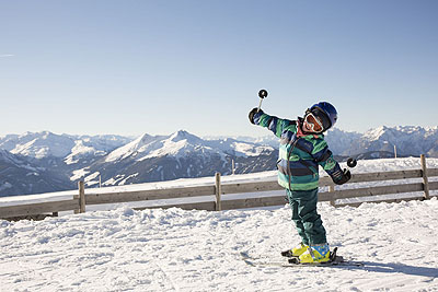 Family ski holiday Alpbach