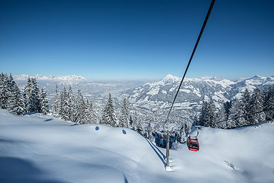 Kitzbuehel ski holiday by train