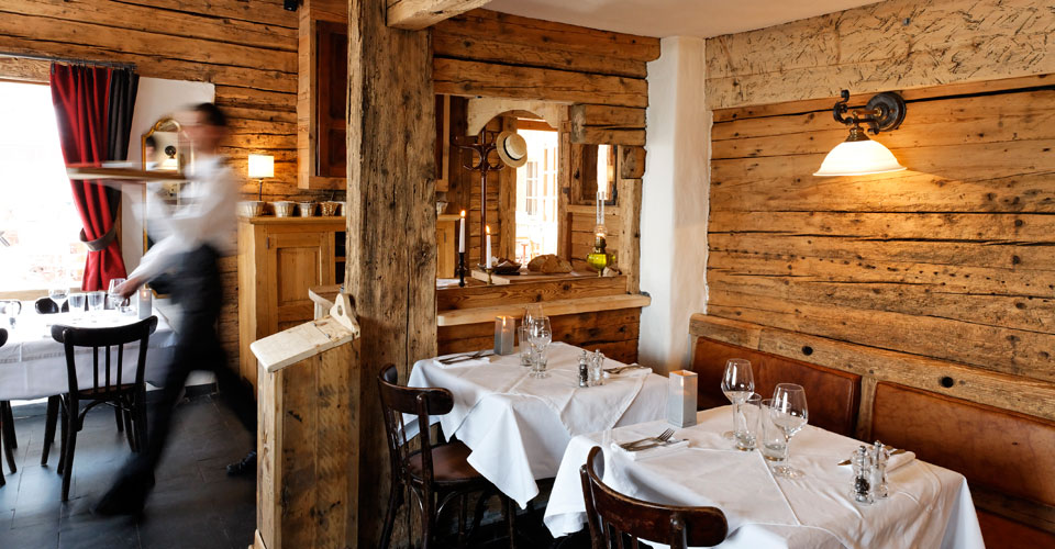 Photo: Francois Cavanazza - La Clusaz restaurant