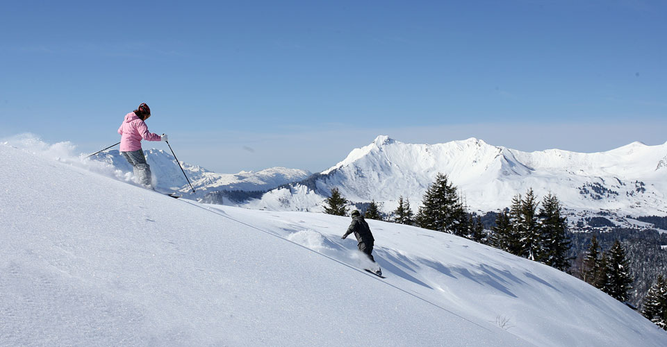 Photo: N.Joly OT Les Gets - Les Gets ski slopes