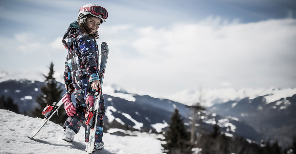 Photo: Agence Merci - child skier in Les Arcs