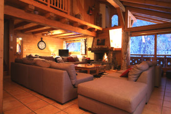 Morzine catered ski chalet