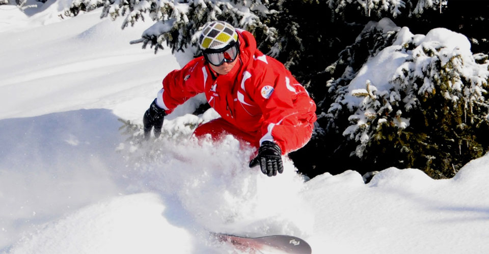 Photo: ESF Peisey-Vallandry - Peisey-Vallandry snowboard lesson