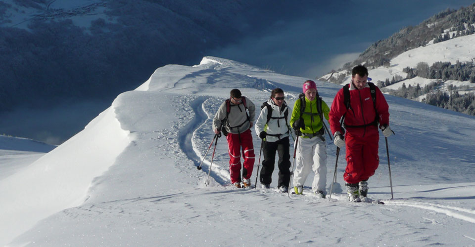 Photo: ESF Peisey-Vallandry - Peisey-Vallandry snowshoeing