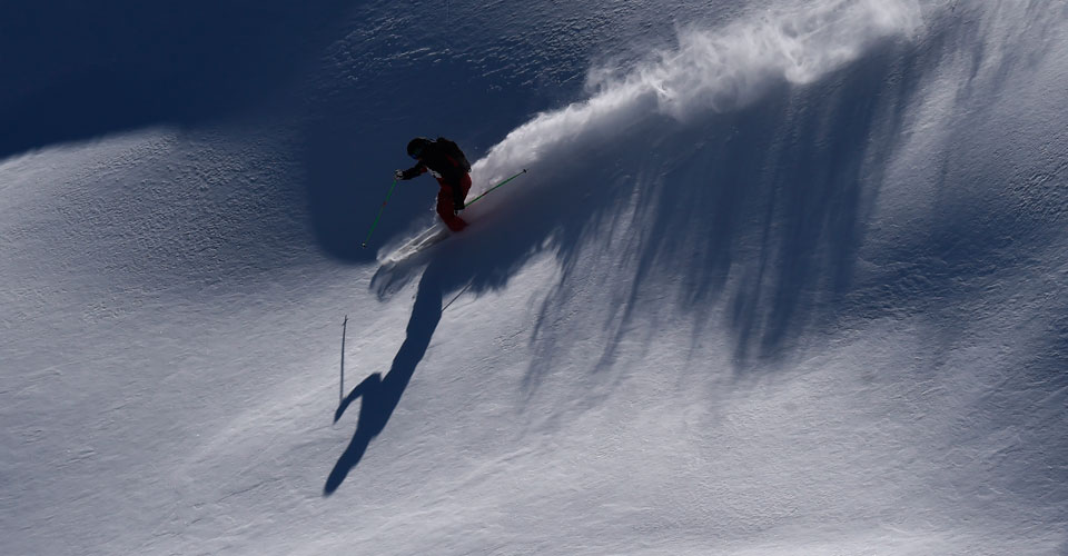 Photo: Agence Zoom - Serre Chevalier off piste