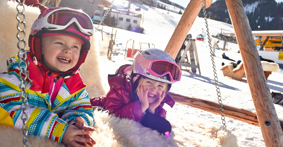 Photo: Wilderkaiser Tourism - family ski holiday in Soll