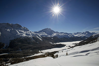 St Moritz by train