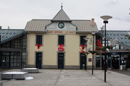 St Gervais train station