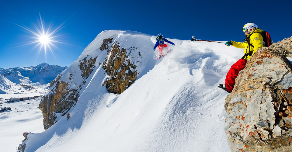 Photo: Andy Parant - Tignes snowboarders