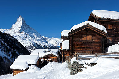 Zermatt by train