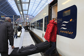 Eurostar Ski Train Day Snowcarbon